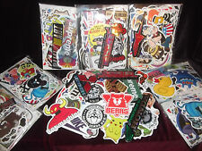 Large Job Lot of 200x Stickers for Resale Market Car Skateboard Sticker Bomb VW