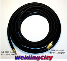 WeldingCity Power Cable/Water Hose 40V64R 12.5-ft for TIG Welding Torch 18