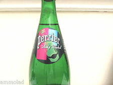 Perrier Water Limited Edition Andy Warhol Collectable Full Glass Bottle 2013