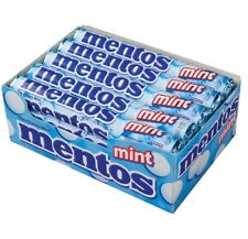 MENTOS MINT Box of 15 Rolls 1.32oz  Chewy candy breath mints