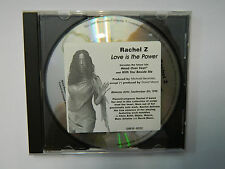 RACHEL Z - LOVE IS THE POWER CD PROMO 10-TRACKS GRP3P-90122