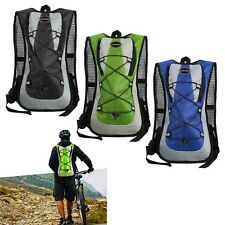 5L Outdoor Water Bladder Bag Backpack Hydration Pack Hiking Camping Sports