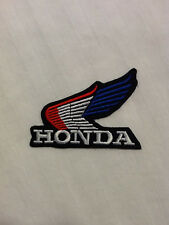 Honda Wing Red White Blue Motorcycles Biker Vest Hat Shirt Jacket Iron On Patch