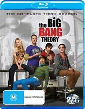 The Big Bang Theory SEASON 3 : NEW Blu-Ray