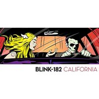 Blink 182 - California - CD Album (Released 1st July 2016) Brand New