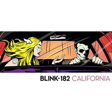 Blink 182 - California - Vinyl LP Album (Released 1st July 2016) Brand New