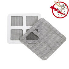 6X Anti-Insect Fly Bug Mosquito Screen Net Repair Tape Patch Adhesive 10x10(cm)