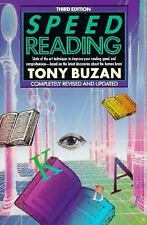 Speed Reading: Third Edition (Plume), Buzan, Tony, Good Condition, Book
