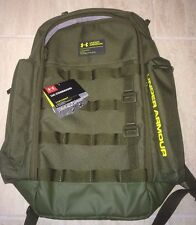 Under Armour Unisex UA Storm Command Backpack 1284003-374 NEW Army Green