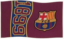FC BARCELONA TEAM CLUB SINCE 1899 FOOTBALL FLAG FC - LICENSED PRODUCT GIFT FCB
