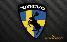 Volvo Moose Stickers | Pair of exterior decals | Sweden