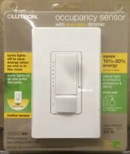 LUTRON Occupancy Sensor with eco-dim dimmer - White - MS-OP600GHW-WH- NEW