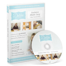 Debbie Shore - Curtains Made Easy - Video Tutorial DVD - New Out
