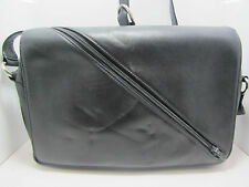 Gianni Versace handbag Leahter Black Shoulder Purse Handbag Bag  Vintage