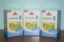 Holle Organic Stage 2 Baby Infant formula (3 Boxes) Sealed PRIORITY Shipping