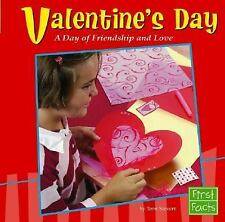 Valentine's Day: A Day of Friendship and Love (Holidays and Culture)-ExLibrary