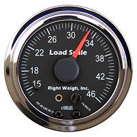 Right Weigh Load Scale, 510-46-C, On Board Weigh Scale Gauge Only