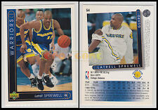 NBA UPPER DECK 1993/94 - Latrell Sprewell # 54 - Warriors - Ita/Eng - MINT
