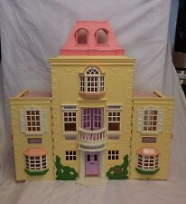 Fisher Price Loving Family Twin Time Grand Mansion Dollhouse Furniture Dolls