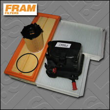 SERVICE KIT PEUGEOT 207 CC 1.6 HDI FRAM OIL AIR FUEL CABIN FILTERS (2007-2009)