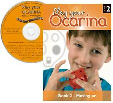 Play your OCARINA : BOOK 2 'Further Techniques & Tunes' with CD, FREE DELIVERY