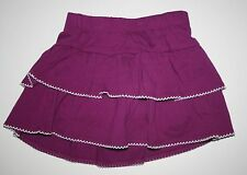 New Gymboree Purple Tiered Ruffle Swing Skirt Skort Size 4T NWT Spice Market