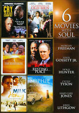 6-Movies With Soul V.2, Very Good DVD, Morgan Freeman, John Lithgow, Holly Hunte