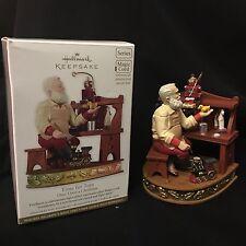 Hallmark 2012 Time For Toys Santa Keepsake Ornament Magic Cord Required Box