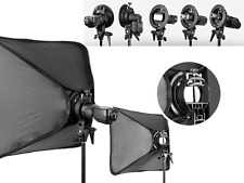 Godox Bracket Mount Bowens Soft box for Canon nikon Yongnuo Flash Speedlite