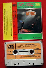 AC/DC LET THERE BE ROCK 1981 ORIGINAL RARE GREEK CASSETTE TAPE N/MINT