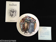 "1981 ""Mr. Pickwick & Friends"" Remarkable World of Charles Dickens 8th Ed. Plate"
