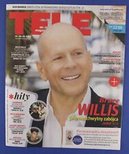 BRUCE WILLIS  mag.FRONT cover Poland  TELE MAGAZYN  No41