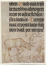 Alte Kunstpostkarte - Lucas Cranach d. Ä. - Randzeichnung aus dem Gebetbuch...