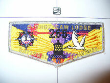 OA O Shot Caw Lodge 265 S-57, 1997 BSA Jamboree, SMY, DEL,Flap, South FL Council