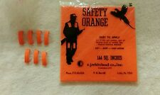 7*LaRue Tactical INDEX Clips Rail CLIPS-SAFETY ORANGE + PATCH Tapeswitch .223