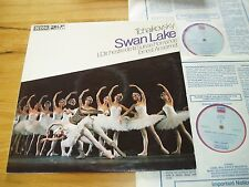 DECCA DPA 603 / 4 TCHAIKOVSKY - SWAN LAKE - SWISS RO / ANSERMET 2 lp SET NM
