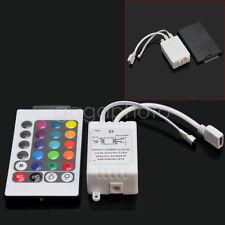 Contrôle RGB LED Commande 24 Touches Télécommande CMOS à 3 Voies à Drain Ouvert