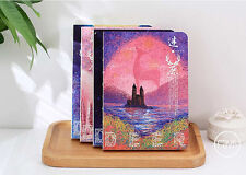 Cute Mystery Deer Blank Paper Diary Notebook Journal Planner Sketchbook Note #UK