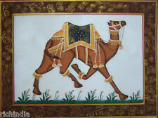 Miniature Painting Royal Camel Cloth Folk Pintura En  Real Camel Tejido_AR169