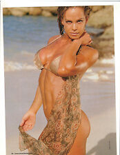 AMY FADHLI  Female Fitness Bodybuilding Muscle Poster Color