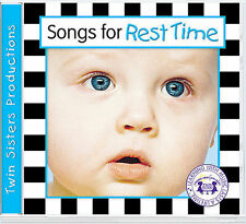 Twin Sisters Productions: Songs For Rest Time Music CD  Audio CD