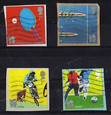 2010 Olympic self adhesive booklet stamps. Books 3 & 4. FU