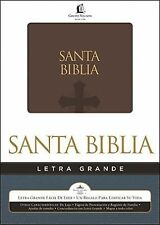 Biblia Letra Grande Reina Valera General Brown (2012, Imitation Leather)