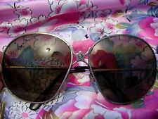 Mary Quant vintage retro sunglasses boho hippy hippie flower power 60s aviator