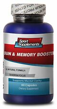 Brain & Memory Booster 777mg - Supports & Maintains Memory - Diet Supplements 1B