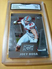 JOEY BOSA CHARGERS 2016 PRIZM DRAFT PICKS ROOKIE RC # 101 GRADED 10