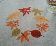 'AUTUMN LEAVES' DESIGN BY RICO DESIGN (D26) cross stitch chart