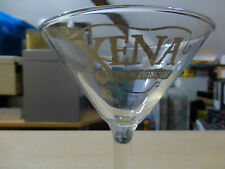 Xena Warrior Princess  Martini Glass