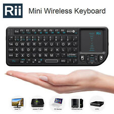 Rii X1 2.4Ghz Mini Wireless Keyboard Touchpad for Smart TV Android TV Box PC