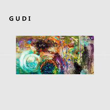 GUDI- Original modern hand-painted abstract oil painting art home decoration